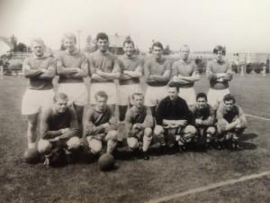 Gert Spijker AGOVV-1 in 1965 voor wedstrijd tegen Helmondia-55 (uit)