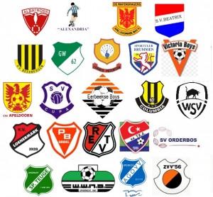 Logos clubs verzamel