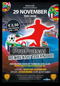 Pro Futsal Recreatie toernooi 2014