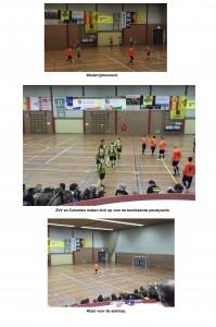 Collage Columbia Veeneman zaalvoetbaldriedaagse - 1 van 4 - 30-12-2014