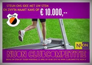 ZVV'56 geselecteerd voor NUON Clubcompetitie
